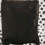 """Essences Binaires n23 "" 20x20 cm ink&acrylic on canvas 2010"