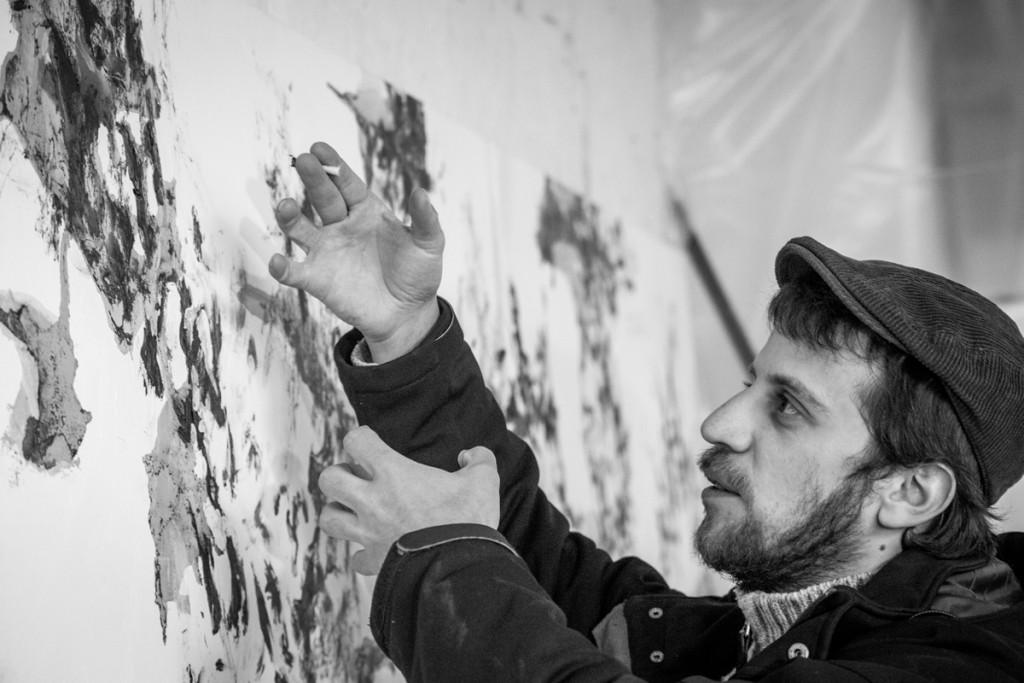 Luis Pôlet , bruxelles, 2015/02/21. artiste peintre